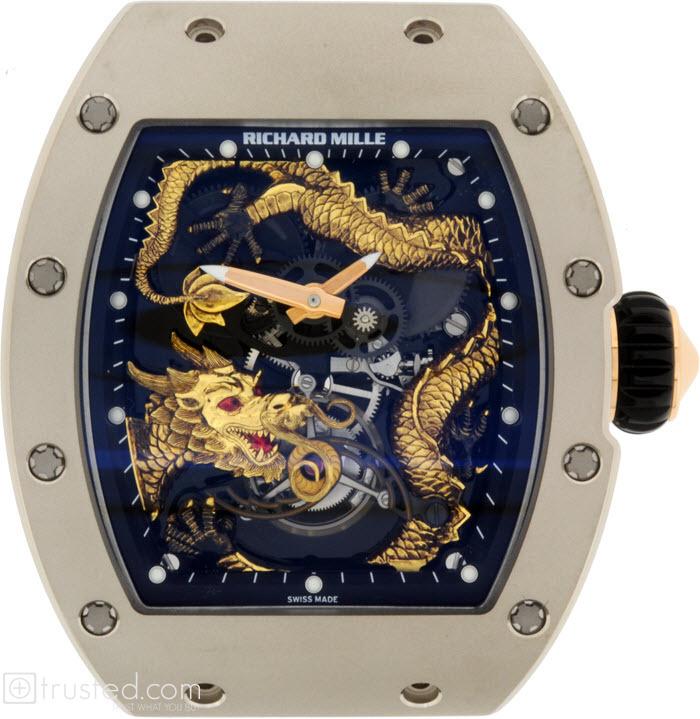 Rm 057 Tourbillon Dragon Jackie Chan 557 06 91 B