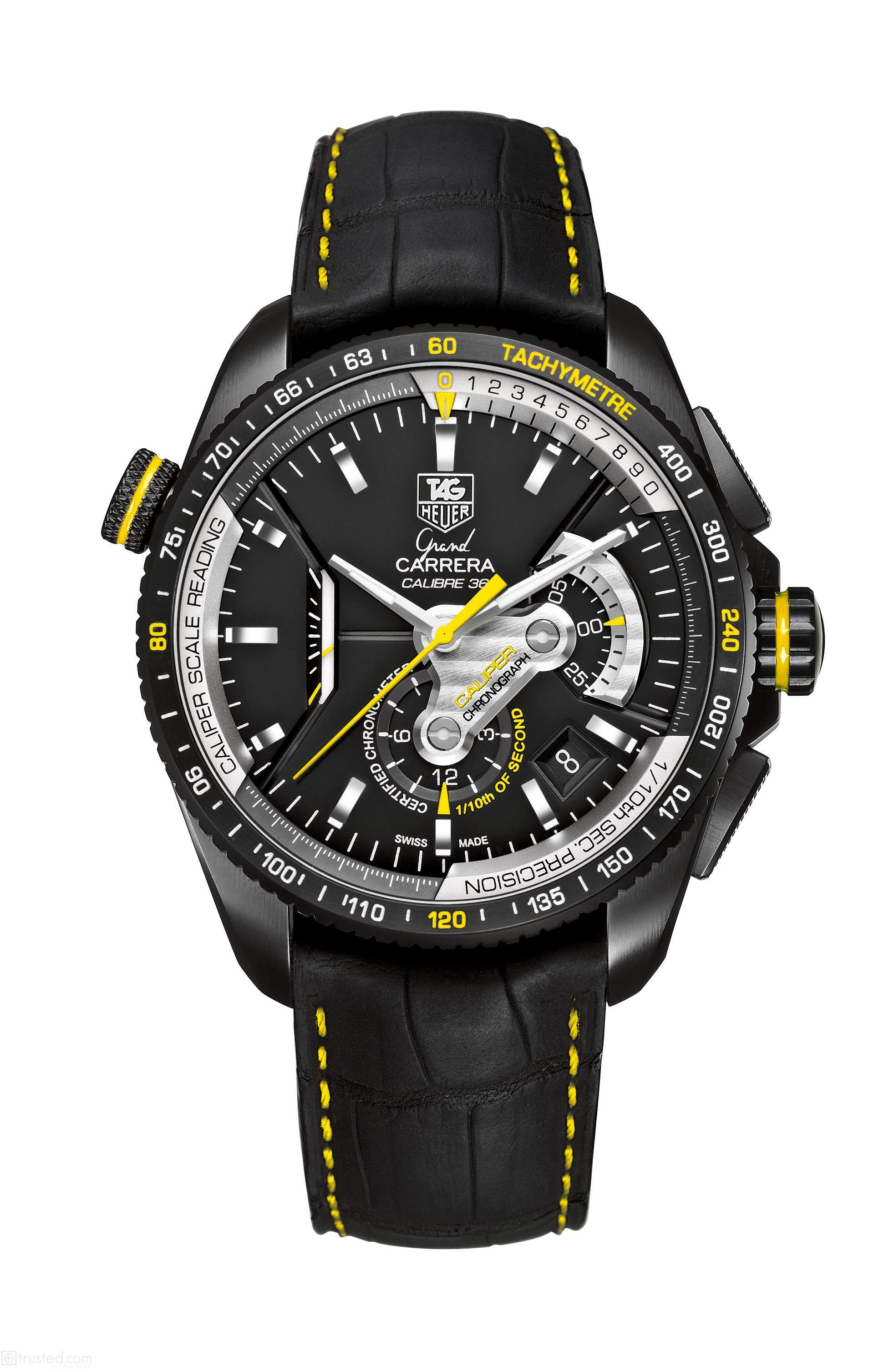 a8540935070 TAG Heuer Grand Carrera Calibre 36 RS2 Chronograph Ti2 CAV5186.FC6304