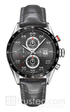 TAG Heuer CARRERA Calibre 1887 Chronograph Anthracite Leather image
