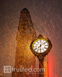 Rain Smatters the Historic Flatiron Building image